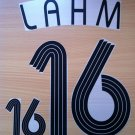 LAHM 16 HOME GERMANY WORLD CUP 2006 NAME NUMBER SET NAMESET KIT PRINT