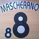MASCHERANO 8 ARGENTINA HOME WORLD CUP 2006 NAME NUMBER SET NAMESET KIT PRINT