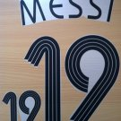 MESSI 19 ARGENTINA HOME WORLD CUP 2006 NAME NUMBER SET NAMESET KIT PRINT