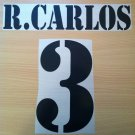 ROBERTO CARLOS 3 REAL MADRID HOME 2001 2002 NAME NUMBER SET NAMESET KIT PRINT