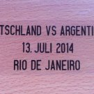 MATCH DETAILS GERMANY DEUTSCHLAND VS ARGENTINIEN ARGENTINA FINAL WORLD CUP 2014