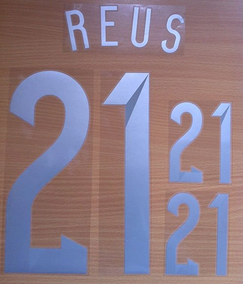 REUS 21 GERMANY AWAY 2014 2015 NAME NUMBER SET NAMESET KIT PRINT WC