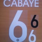 CABAYE 6 FRANCE HOME 2014 2015 NAME NUMBER SET NAMESET KIT PRINT WORLD CUP