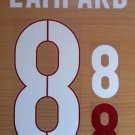 LAMPARD 8 ENGLAND AWAY 2014 2015 NAME NUMBER SET NAMESET KIT PRINT