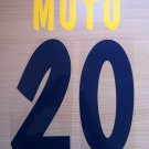 MUTU 20 PARMA HOME 2002 2003 NAME NUMBER SET NAMESET KIT PRINT NUMBERING
