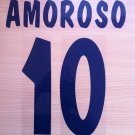 AMOROSO 10 PARMA HOME 2000 2001 NAME NUMBER SET NAMESET KIT PRINT NUMBERING