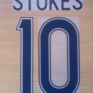 STOKES 10 CELTIC HOME UCL 2010 NAME NUMBER SET NAMESET KIT PRINT NUMBERING