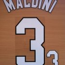 MALDINI 3 AC MILAN HOME 1998 2000  NAME NUMBER SET NAMESET KIT PRINT RETRO