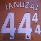 JANUZAJ 44 MANCHESTER UNITED HOME 2013 2014 NAME NUMBER SET NAMESET KIT PRINT