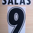 SALAS 9 SS LAZIO HOME 1998 2002 NAME NUMBER SET NAMESET KIT PRINT NUMBERING
