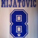 MIJATOVIC 8 REAL MADRID HOME 1996 1998 NAME NUMBER SET NAMESET KIT PRINT RETRO