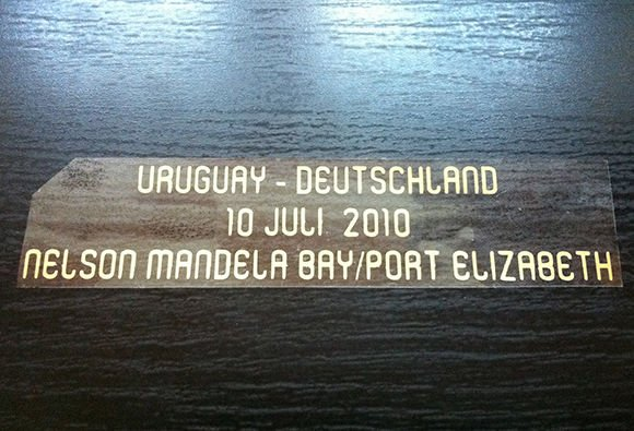 MATCH DETAILS URUGUAY VS DEUTSCHLAND 10 JULY WORLD CUP SOUTH AFRICA 2010 PRINT