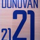 LANDON DONOVAN 21 UNITED STATES HOME WC 2002 NAME NUMBER SET NAMESET KIT PRINT