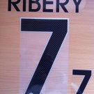 RIBERY 7 FRANCE AWAY 2014 2015 NAME NUMBER SET NAMESET KIT PRINT FOOTBALL