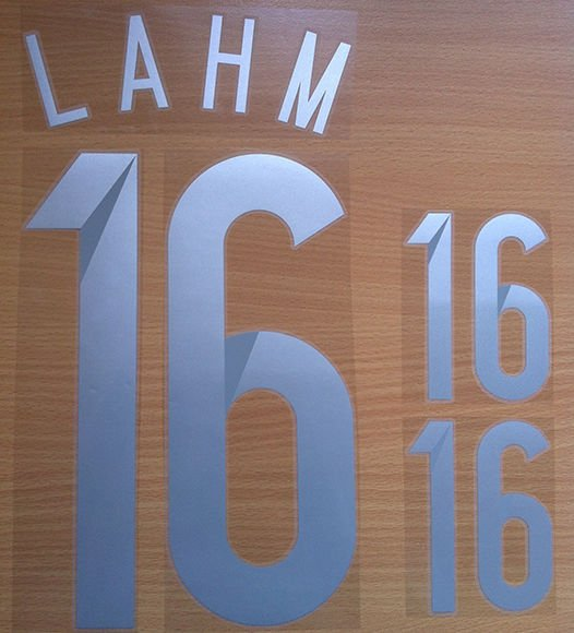 LAHM 16 GERMANY AWAY 2014 2015 NAME NUMBER SET NAMESET KIT PRINT WC