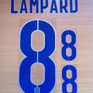 LAMPARD 8 ENGLAND HOME 2014 2015 NAME NUMBER SET NAMESET KIT PRINT