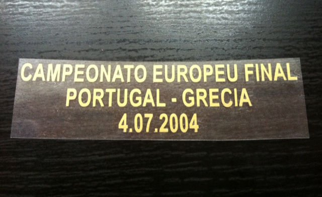 MATCH DETAILS PORTUGAL VS GREECE GRECIA EURO CUP FINAL 04 07 2004