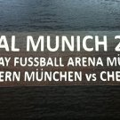 MATCH DETAILS FC BAYERN MUNCHEN VS CHELSEA FC FINAL MUNICH 2012 CHAMPIONS LEAGUE