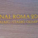 MATCH DETAILS BARCELONA VS MANCHESTER UNITED FINAL ROMA 2009 CHAMPIONS LEAGUE