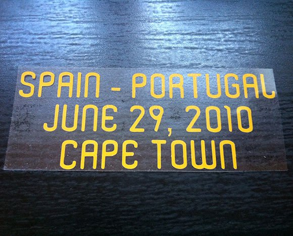 MATCH DETAILS SPAIN VS PORTUGAL JUNE 29 WORLD CUP SOUTH AFRICA 2010 PRINT