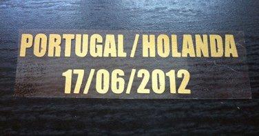 MATCH DETAILS PORTUGAL VS HOLLAND NETHERLANDS 17 JUNE EURO CUP 2012 PRINT