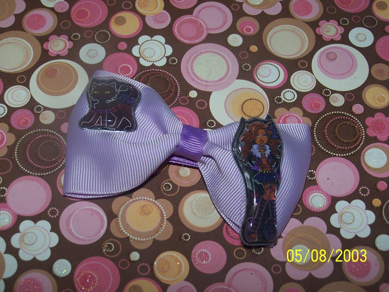 Monster High Boutique Tuxedo Hair Bow