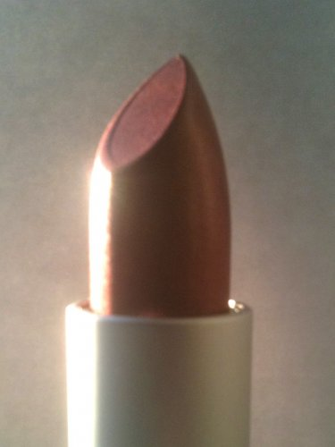 Arbonne CRAZED Lipstick -frosted nude copper brown, vegan DISCONTINUED