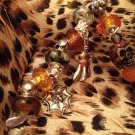 Halloween euro beads bookmark