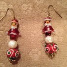 Santa's earrings
