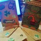 Handmade St.Patrick's cards - BMGM!