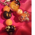 Euro Beads halloween keychain or decoration for your bag or purse