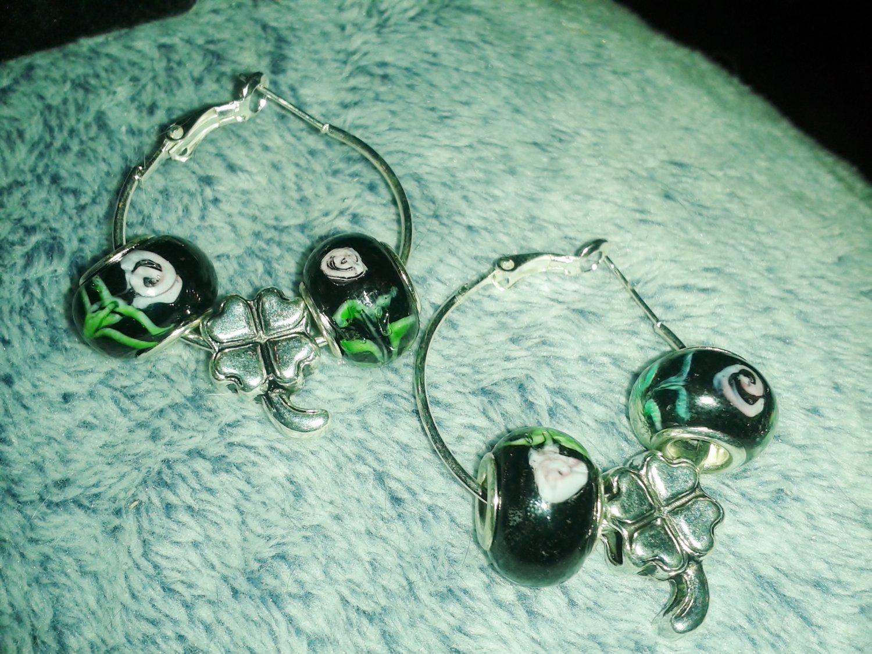 St.Patrick's earrings