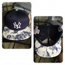 New York Yankees Floral (Navy) Custom SnapBack