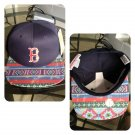 Boston Red Sox Navajo (Navy) Custom SnapBack
