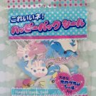 Lemon Co. Dolphin sticker sack, rare kawaii flakes