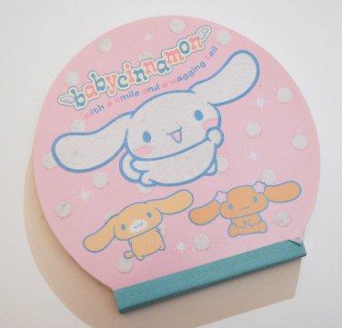 Sanrio 2002 Baby Cinnamon Die-cut Memo Pad kawaii