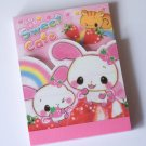 Kamio Sweet Cafe Usagi Bunny mini memo pad