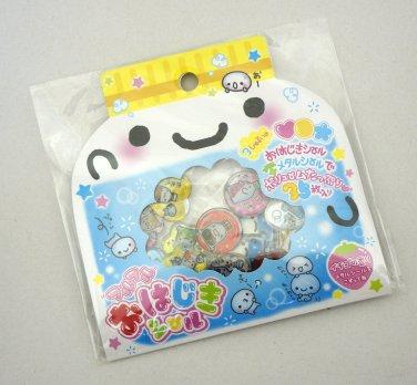 Q-lia Soda Nomikkake Sticker Sack, kawaii