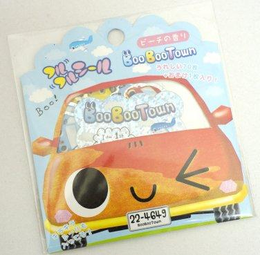 Q-lia Cars Boo Boo Town Sticker Sack, kawaii