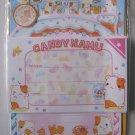 Q-lia Candy Hamu Hamster Letterset, kawaii