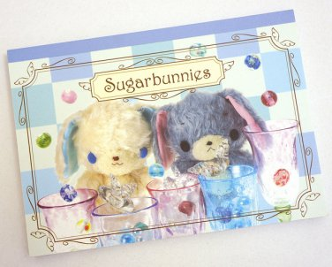 Sanrio Sugarbunnies Jewels Gems Regular Memo Pad, kawaii