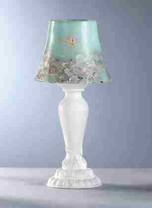 Seashell Candle Lamp