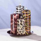 Safari Candle Set