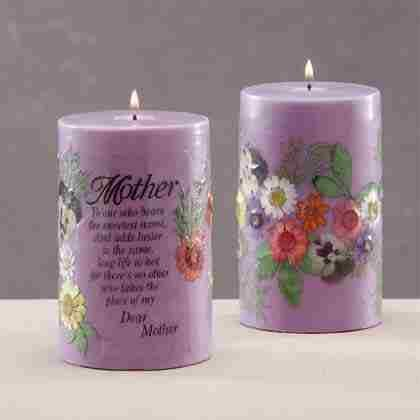 Scented Mother's Candle