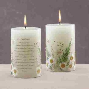 Scented Candle - Marriage with Dried Flowers
