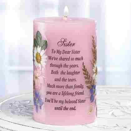 A Candle For Sister