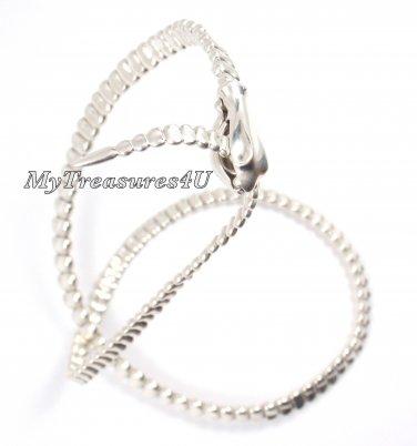 "Tiffany & Co Elsa Peretti Sterling Silver Snake Necklace 19.5"" w/box"