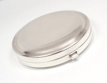 RARE Vintage Tiffany & Co Sterling Silver Purse Compact Mirror