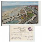 Yorkshire.  Postcard Yorkshire Postcard Beach and Boating Pool Bridlington