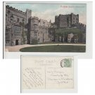 County Durham Postcard Durham Cathedral Courtyard Mauritron Item No. 38